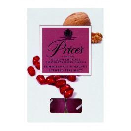 Price´s FRAGRANCE vonné čajové sviečky Granátové jablko & orech 30ks