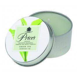 Price´s FRAGRANCE vonné sviečky v plechu Zelený čaj 123g 3ks