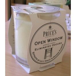 Price´s FRESH AIR vonná sviečka v skle Otvorené okno 350g