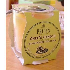 Price´s FRESH AIR vonná sviečka v skle Svieža kuchyňa 350g