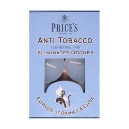 Price´s FRESH AIR vonné čajové sviečky Anti tobacco 30ks