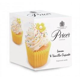 Price´s LIMITOVANÁ EDÍCIA vonná sviečka v skle Muffiny vanilka & citrón 350g