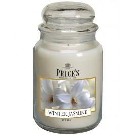 Price´s SIGNATURE MAXI sviečka v skle Zimný jazmín, horenie 150h