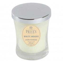 Price´s SIGNATURE vonná sviečka v skle Biele dreviny stredná 425g