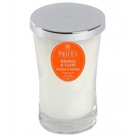 Price´s SIGNATURE vonná sviečka v skle Pomaranč&klinčeky XL 615g