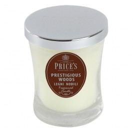 Price´s SIGNATURE vonná sviečka v skle Prestigious woods stredná 425g