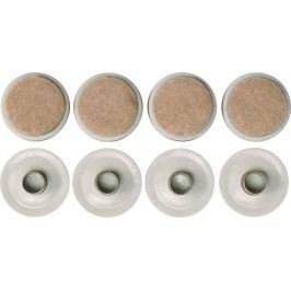 Podložky plastové s kolíkom 26 mm 8 ks