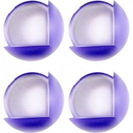 Chrániče na rohy nábytku fialové 4 ks