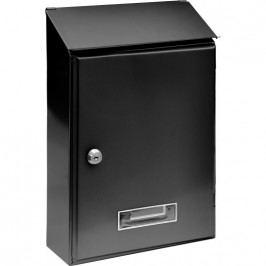 Schránka poštová čierna 360 x 230 x 90 mm