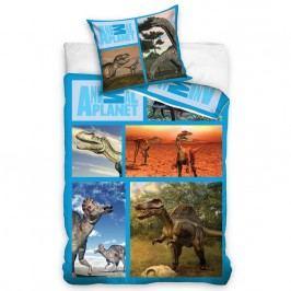 Carbotex Obliečky Animal Planet - Dinosaury 160x200 70x80, 160 x 200 cm, 70 x 80 cm