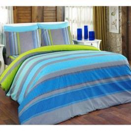 Bedtex bavlnené obliečky Elle Tyrkysové, 220 x 200 cm, 2 ks 70 x 90 cm