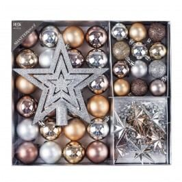 Vianočné ozdoby set Luxury mix
