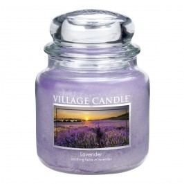 Village Candle Vonná svíčka ve skle, Levandule - Lavander, 397 g, 397 g