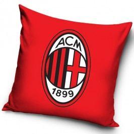Vankúšik  AC Miláno Red, 40 x 40 cm,