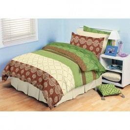 TipTrade bavlna obliečky Adeline Zelené 140x200 70x90, 140 x 200 cm, 70 x 90 cm