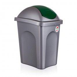 VETRO-PLUS Kôš odpadový Multipat zelená, 30 l