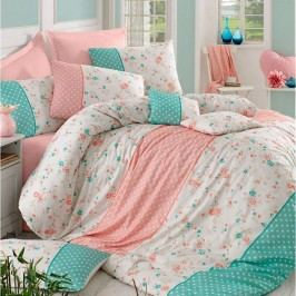 Homeville Obliečky Emily dots bavlna, 220 x 200 cm, 2 ks 70 x 90 cm
