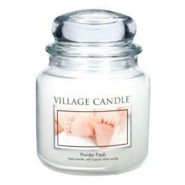 Village Candle Vonná svíčka ve skle, Pudrová svěžest - Powder fresh, 397 g, 397 g