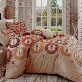 BedTex Bavlnené obliečky Luiz béžová, 220 x 200 cm, 2 ks 70 x 90 cm, 220 x 200 cm, 2 ks 70 x 90 cm