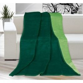 Deka Kira tmavo zelená/zelená, 150 x 200 cm
