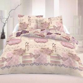 Kvalitex Saténové obliečky Romantic Luxury Collection, 240 x 220 cm, 2 ks 70 x 90 cm