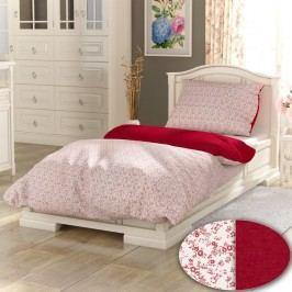 Kvalitex bavlna obliečky Provence Collection Daisy biela 140x200 70x90