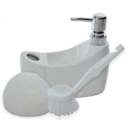 Orion Dávkovač mydla Pearl, biela