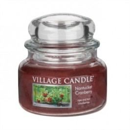 Village Candle Vonná svíčka ve skle, Brusinka - Nantucked Cranberry, 269 g, 269 g