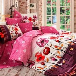 BedTex Bavlnené obliečky Amanda lila, 220 x 200 cm, 2 ks 70 x 90 cm