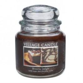 Village Candle Vonná svíčka, Čokoládový dortík - Brownies Delight, 397 g, 397 g
