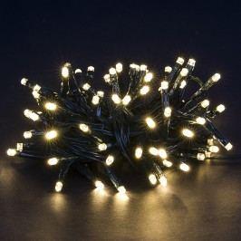 Vianočná svetelná reťaz, teplá biela, 80 LED,