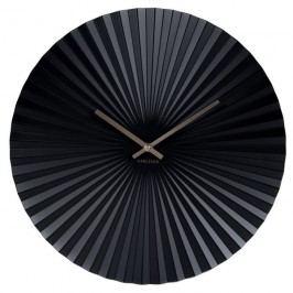 Karlsson 5657BK Designové nástenné hodiny, 40 cm
