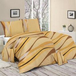 Bohemia Style Bavlnené obliečky Verano oranžová, 140 x 200 cm, 70 x 90 cm