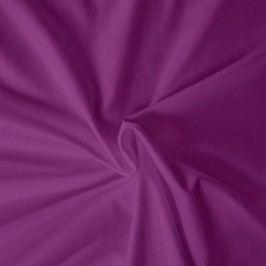 Kvalitex prestieradlo satén tmavofialové, 120 x 200 cm