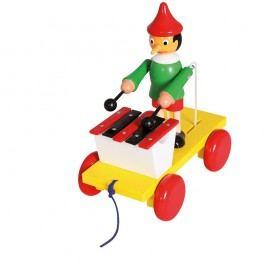 Ťahací Pinocchio s xylofónom