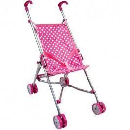 Golfový kočík pre bábiky, ružová
