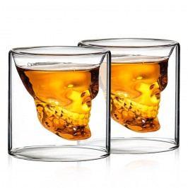 Panáky Scull Hot&Cool 80 ml, 2 ks