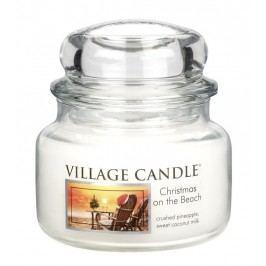 Village Candle Vonná svíčka ve skle, Vánoce na pláži - Christmas on the beach, 269 g