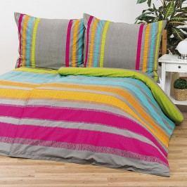 Bedtex obliečky ELLE oranžové bavlna, 220 x 200 cm, 2 ks 70 x 90 cm
