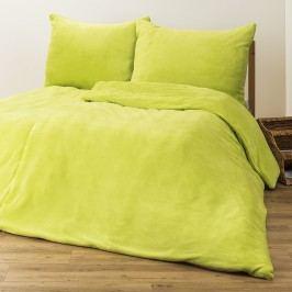 obliečky mikroflanel zelená