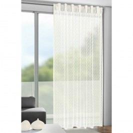 Záclona s pútkami Calli béžová, 140 x 245 cm, 140 x 245 cm