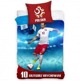 TipTrade Bavlnené obliečky Polska Krychowiak, 160 x 200 cm, 70 x 80 cm