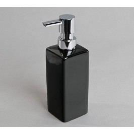 Dávkovač na mydlo, čierny