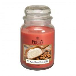 Price's Vonná sviečka v skle Large Jar Sugar & Almond