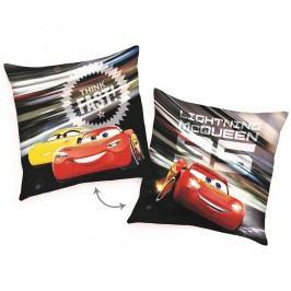 Vankúšik Cars McQueen Fast, 40 x 40 cm,