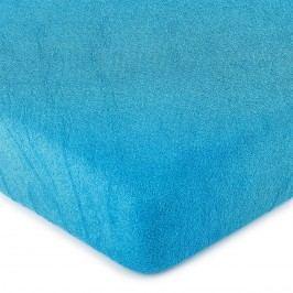 froté prestieradlo tmavo modrá, 160 x 200 cm