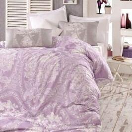 Homeville Obliečky Adeline purple bavlna, 220 x 200 cm, 2 ks 70 x 90 cm