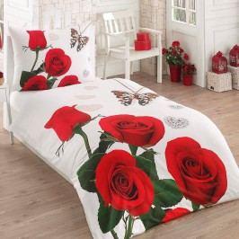 Bade Home, SK 3D obliečky Ruže červené , Požadovaný rozmer 1x70x90 / 1x140x200 cm
