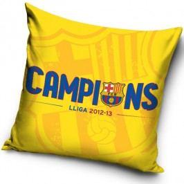 Vankúšik FC Barcelona Campions, 40 x 40 cm,