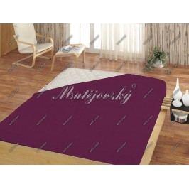 Matějovský prestieradlo Jersey fialová, 200 x 220 cm
